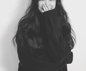 actress, fashion, and hoodie image