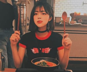 food, ulzzang, and girl image