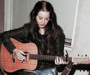 lana del rey, guitar, and ldr image