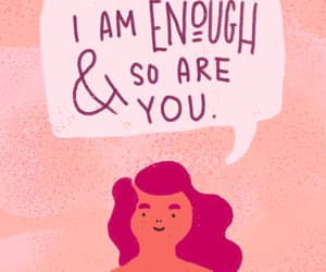body, enough, and love image