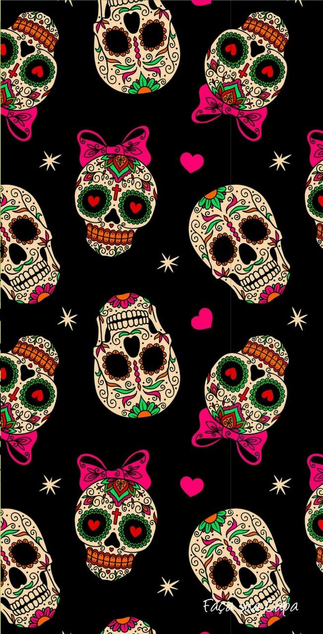 Sugar Skulls Wallpaper Discovered By Amyjames
