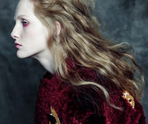 burgundy, fashion, and editorial image