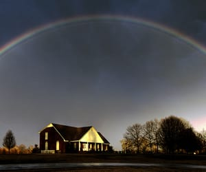 alabama, panoramic, and rainbow image