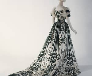 1900, early 20th century, and evening dress image