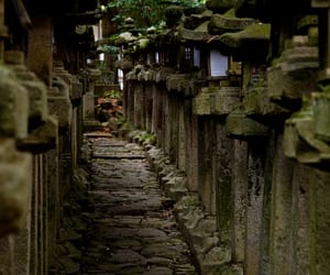 japan, stone, and travel image