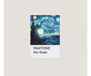 art, van gogh, and pantone image