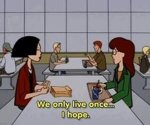 Daria, grunge, and quotes image