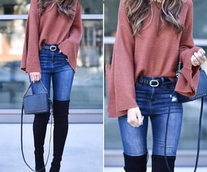 purse, sweaters, and my look image