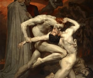 art, hell, and Dante image
