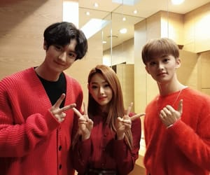 exo, mina, and chanyeol image