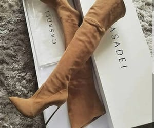 fashion, heels, and boots image