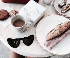 food, coffee, and fashion image