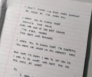goodbye, heartbreak, and Letter image