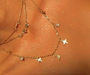 glitter, girl, and jewelry image