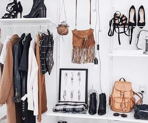 aesthetic, closet, and fashion image