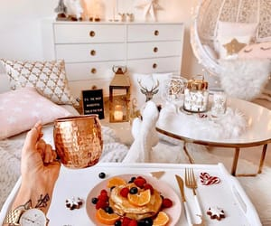breakfast, christmas, and cozy image