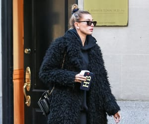 November 16: Hailey Baldwin Bieber leaving A. Joshua Zimm MD PC Facial Plastic Surgery Office in New York.