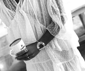 black and white, blogger, and look image