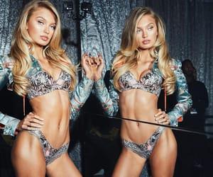 fashion, Victoria's Secret, and model image