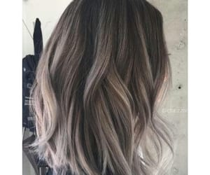 grey and hair image