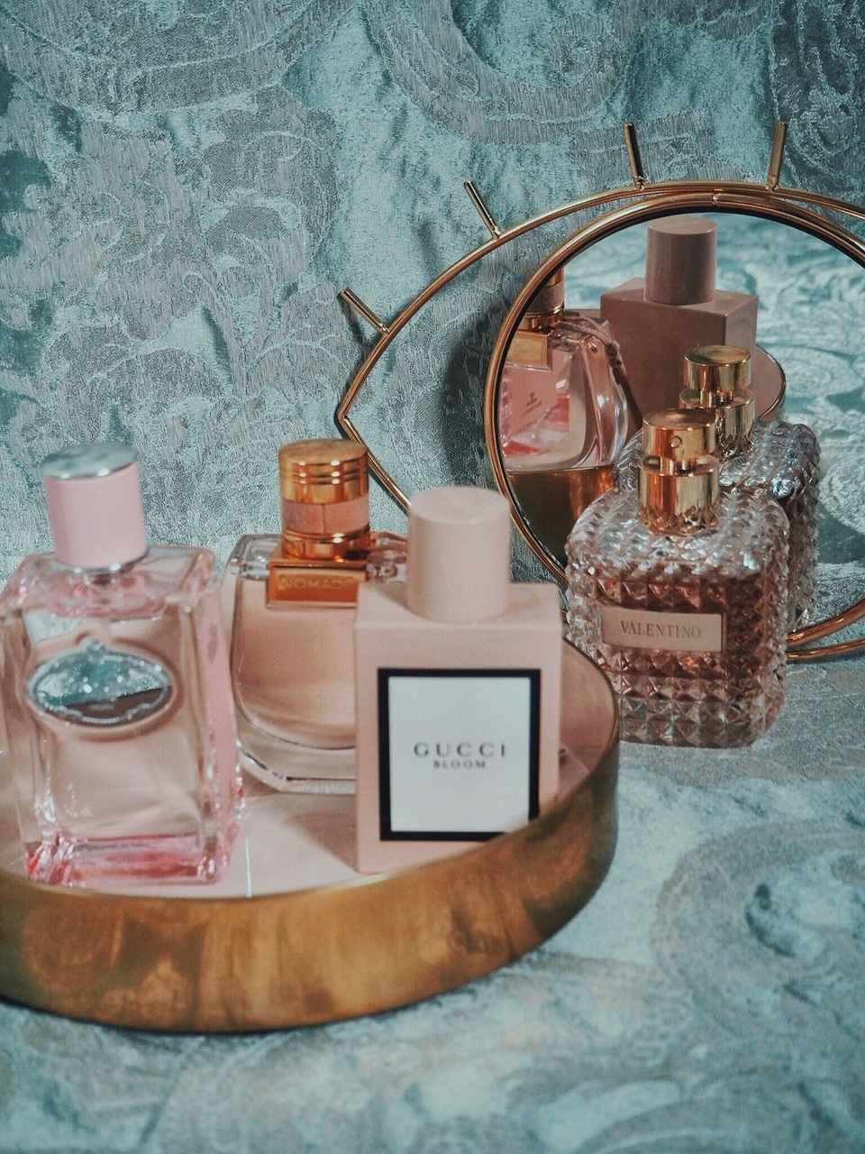 gucci, perfume, and pink image