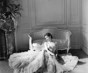 Christian Dior, dress, and editorial image