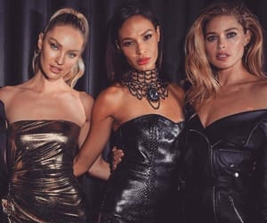 Doutzen Kroes, candice swanepoel, and joan smalls image
