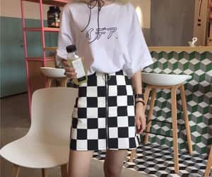 checkers, tumblr, and outfit image