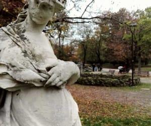 art, autumn, and foliage image