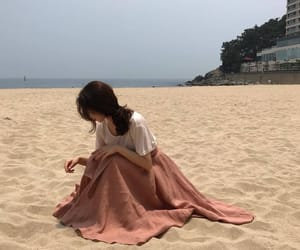 beach, aesthetic, and korean image