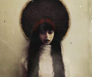 art, costume, and dark image