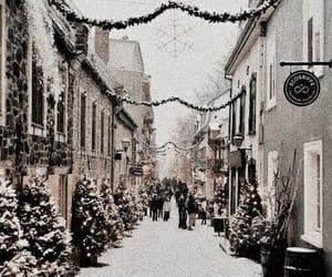 christmas, city, and holiday image