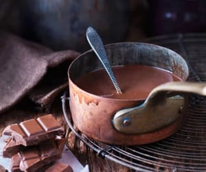 chocolate, food, and hot chocolate image