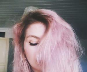 cabelo, rose, and cabelo rosa image