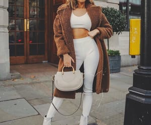 coat, fashion, and london image