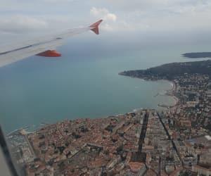 avion, beach, and cloud image