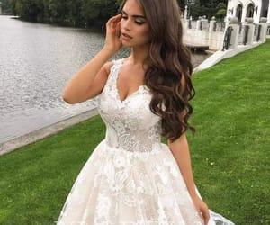blanco, bodas, and vestidos blancos image