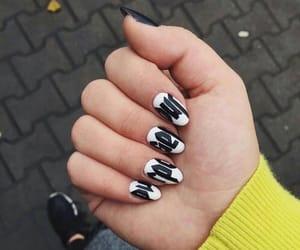 nails, justin bieber, and purpose tour image