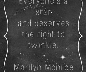 quotes, stars, and Marilyn Monroe image