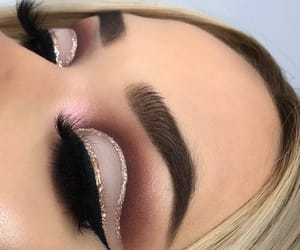 glitter, make up, and make up ideas image