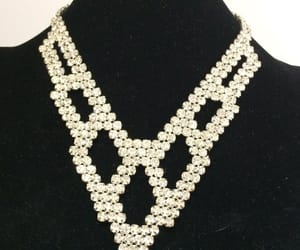 bridal necklace, etsy, and prom jewelry image
