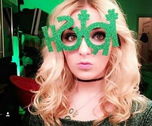 glasses, green, and iowa image