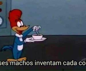 meme, pica pau, and brasil image