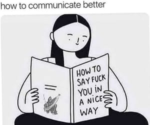 meme, funny, and communicate image