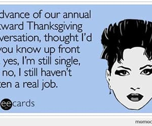 families, humor, and thanksgiving image