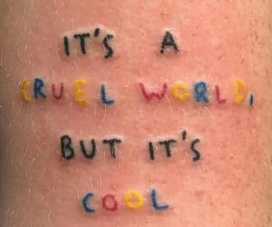 tattoo, cool, and cruel image