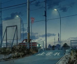 80s, anime, and scenery image