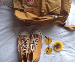 yellow, converse, and shoes image