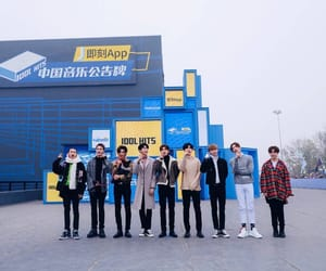justin, nine percent, and huang minghao image