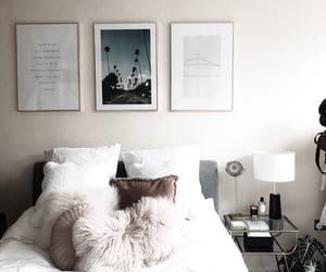 apartment, bed, and decor image